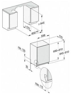 Встраиваемая посудомоечная машина Miele G 7965 SCVI