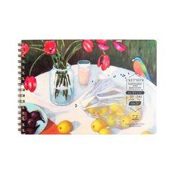 Sketchbook  pentru acrilic Malevich Matisso, 290 g / m, 20 foi, 30x21 cm