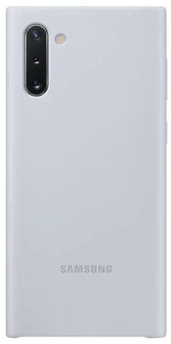cumpără Husă pentru smartphone Samsung EF-PN970 Silicone Cover Silver în Chișinău