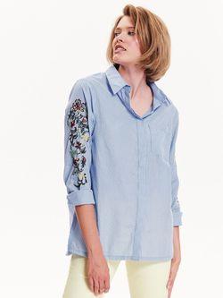 Блуза TOP SECRET Синий в полоску tkl0294