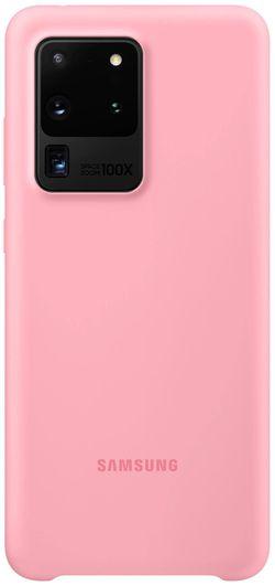 cumpără Husă pentru smartphone Samsung EF-PG988 Silicone Cover Pink în Chișinău