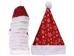 Шапка Деда Мороза Снежинка 40X30cm, полиэстер