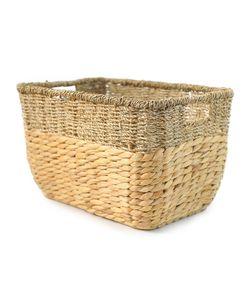 Basket rectangular two-color, 40*28 cm