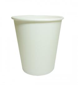 Pahar din hartie alb 250 ml