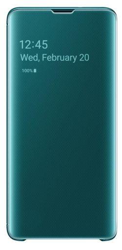 cumpără Husă pentru smartphone Samsung EF-ZG973 Clear View Cover Beyound Green în Chișinău