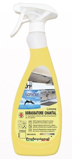 SGRASSATORE CHANTAL LIMONE - Моющее средство для обезжиривания поверхностей, 750ml