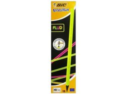 Set creioane simple 12buc BIC FLUO Evolution