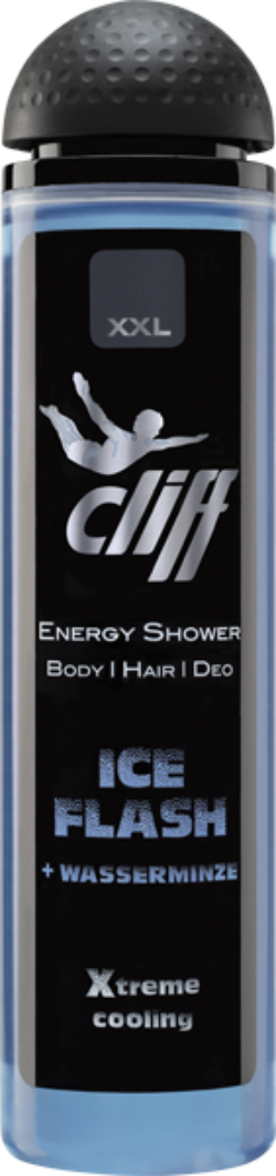 CLIFF Gel dus XXL ICE FLASH 300ml