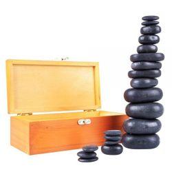 Лавовые камни (20 шт.) inSPORTline Basalt Stones 11189 (4559)