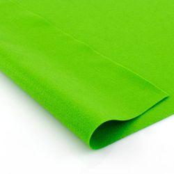 Фетр мягкий Яблочный-зеленый. Размер: А4