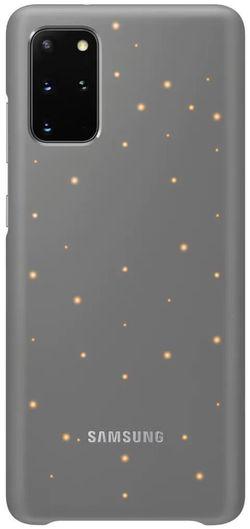 купить Чехол для моб.устройства Samsung EF-KG985 LED Cover Gray в Кишинёве
