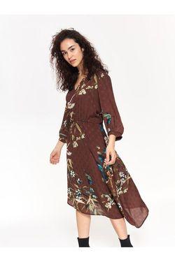 Платье TOP SECRET Коричневый ssu2641
