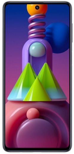 cumpără Smartphone Samsung M515/128 Galaxy M51 White în Chișinău