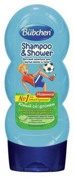 Șampon-gel pentru spălarea părului și a corpului