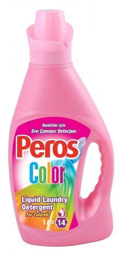 Жидкий стиральный порошок PEROS 1л Color