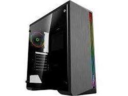 Carcasă ATX GAMEMAX Shine, fără alimentator, ventilator ARGB 1x120mm. Bandă ARGB, TG, filtru de praf, USB 3.0, negru