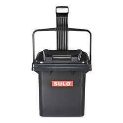 Контейнер ДЛЯ ОТХОДОВ Rollbox Sulo с крышкой, 45L, Черный