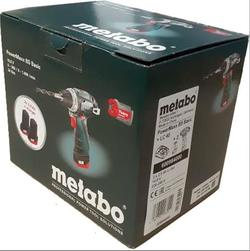 Шуруповерт Metabo PowerMaxx BS Basic (600984000)