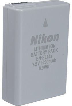 купить Аккумулятор для фото-видео Nikon EN-EL14a в Кишинёве