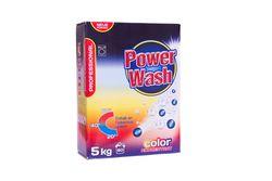 Praf pentru spalarea rufelor Power Wash 5 kg Professional (universal,color,weiss)
