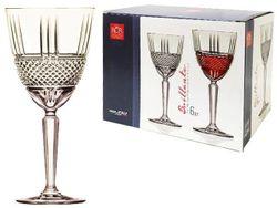 Set pahare pentru vin Brilliante 6buc, 290ml