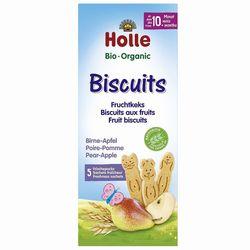 Детское печенье груша-яблоко Holle Bio Organic, 125 г