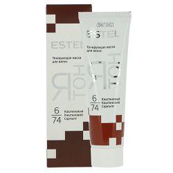 Тонирующая маска, ESTEL Ятон, 60 мл., 6/74 - Каштановый