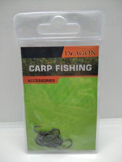 Карповые тефлоновые крючки Dr.Agon Gnippen N8