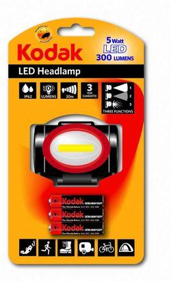купить Фонарь Kodak Headlamp 5-watt/300 lumens + 3 x AAA EHD bat в Кишинёве