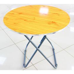 Раскладной круглый Стол, диаметр 80х80см