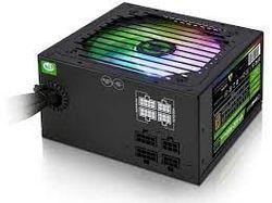 Блок питания ATX 600W GAMEMAX GE-600, 80+, Active PFC, 120-мм вентилятор, Розничная торговля
