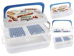 Container alimentar Snips 7l 43X27.5X11cm, 2 elemente frigorifice