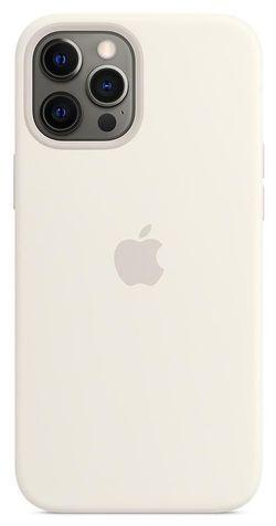 cumpără Husă pentru smartphone Apple iPhone 12 Pro Max Silicone Case with MagSafe White (MHLE3) în Chișinău