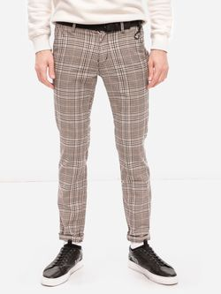 Pantaloni TOM TAILOR Bej in carouri 1020451 24431