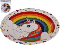 Набор тарелок бумажных Unicorn 8шт, D23cm