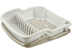 Сушилка для посуды с поддоном 39Х39cm Brio пластик