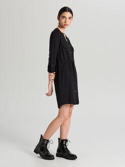 Платье CROPP Чёрный xf616-99x