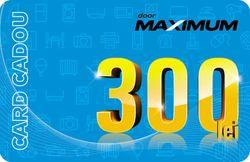 купить Сертификат подарочный Maximum 300 MDL в Кишинёве