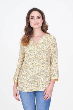 Bluza Fransa Alb cu imprimeu floral 20605593 fransa