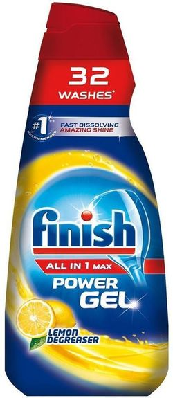 cumpără Detergent mașina de spălat vase Finish 2725 All in One Gel Lemon 650ml în Chișinău