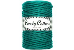 Twisted cord 3 mm, Emerald