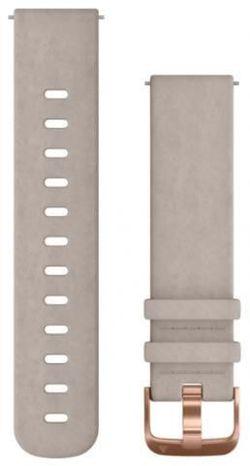 cumpără Accesoriu pentru aparat mobil Garmin Quick Release Bands (20 mm) Grey leather band în Chișinău