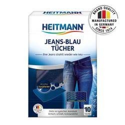 HEITMANN Șervețele pentru blugi albastri Jeans-Blau, 10buc.