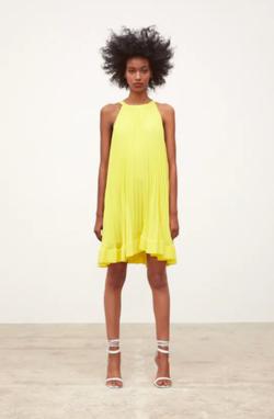 Платье ZARA Желтый 4222/040/300