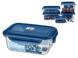 Контейнер герметичный Phibo Brilliant 0.45l, 14X11X6.5cm