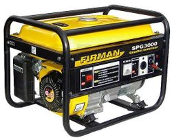 Генератор SPG 3000 AC 230В 2.5 W Бензин FIRMAN