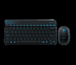 Беспроводная Клавиатура + мышь Logitech MK240, Black