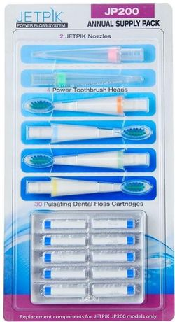 купить Аксессуар для зубных щеток Jetpik JP200, Annual Pack в Кишинёве