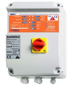 Panou de comandă pentru două pompe de drenaj(0,37 kv - 2,2 kv) QED 2-MONO Pedrollo