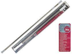 Tija glisanta pentru perdea MSV 70-120cm inox